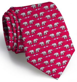 Elephant Bath: Tie - Red
