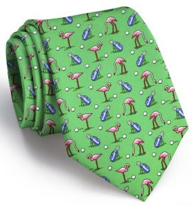 Flamingo Fairway: Tie - Green