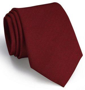 Herringbone Monte: Tie - Red