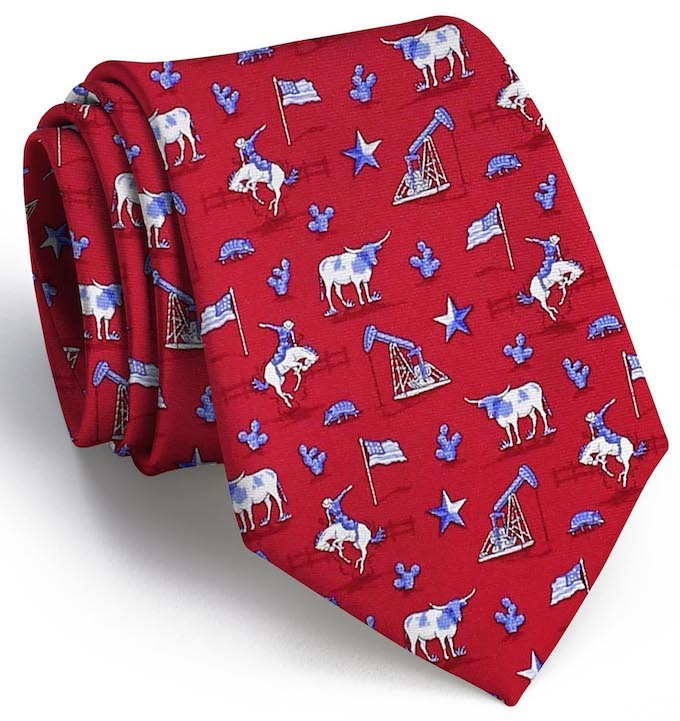 Lone Star State: Tie - Red
