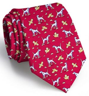 Point and Shoot: Tie - Red