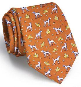 Point and Shoot: Tie - Orange