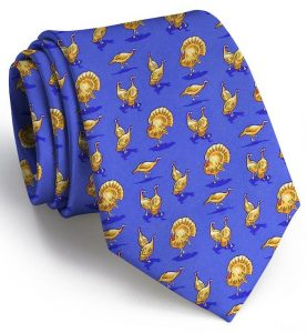 Turkey Trot: Tie - Blue