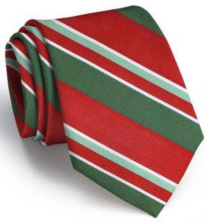 Wayfair Stripe: Tie - Red/Green