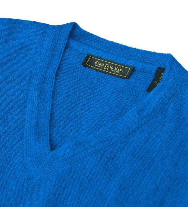 Sweater: V Neck - Blue Jay