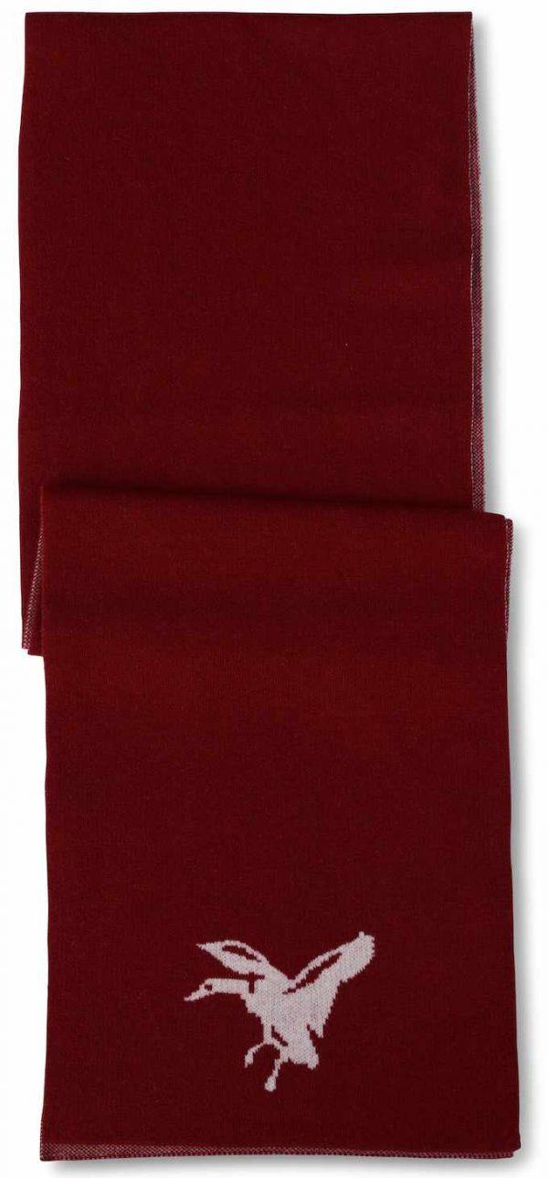 Scarf: Mallard - Red