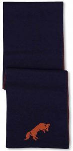 Scarf: Fox - Navy