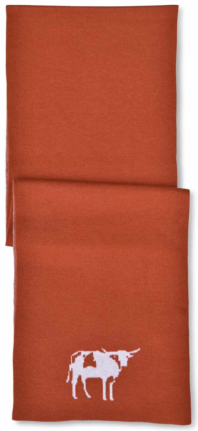 Scarf: Longhorn - Orange