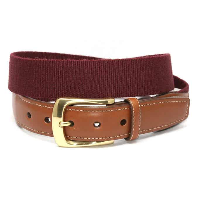 Surcingle: Belt - Burgundy