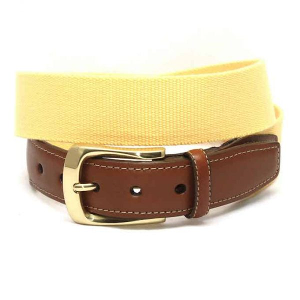 Surcingle: Belt - Yellow