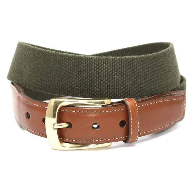 Surcingle: Belt - Olive