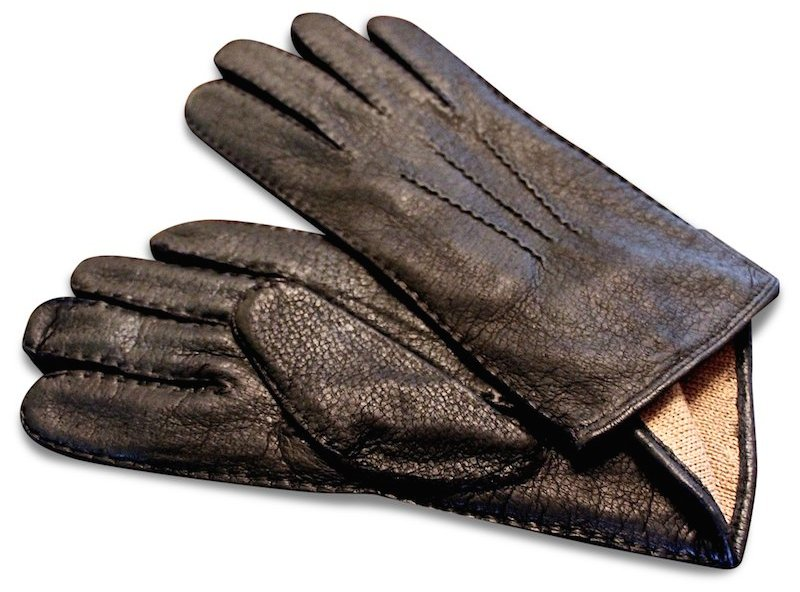Peccary: Gloves - Black