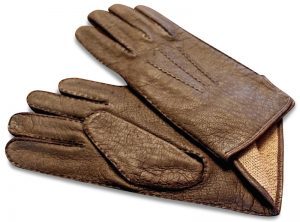 Peccary: Gloves - Dark Brown