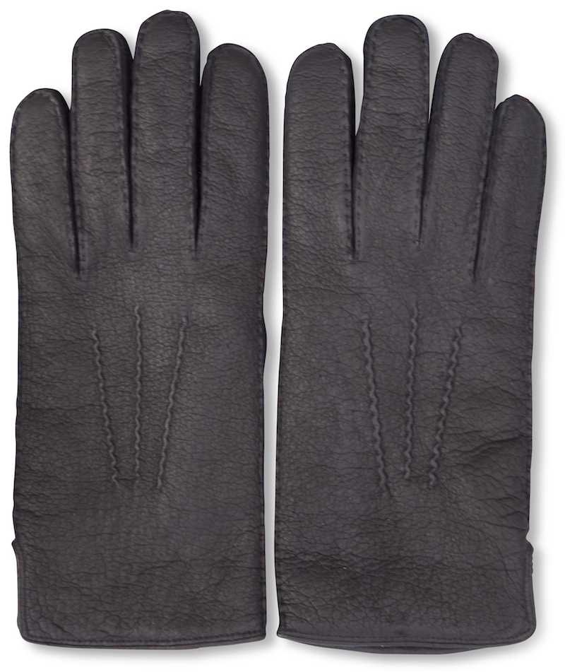 Peccary: Gloves - Dark Brown