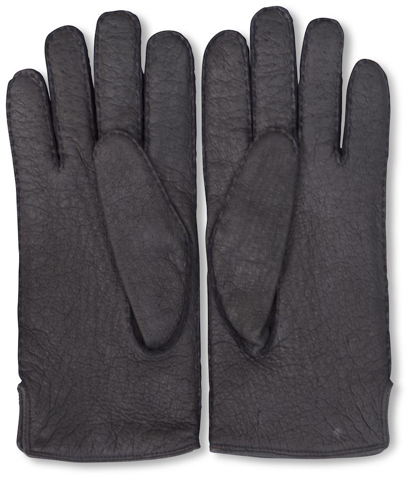 Peccary: Gloves - Black