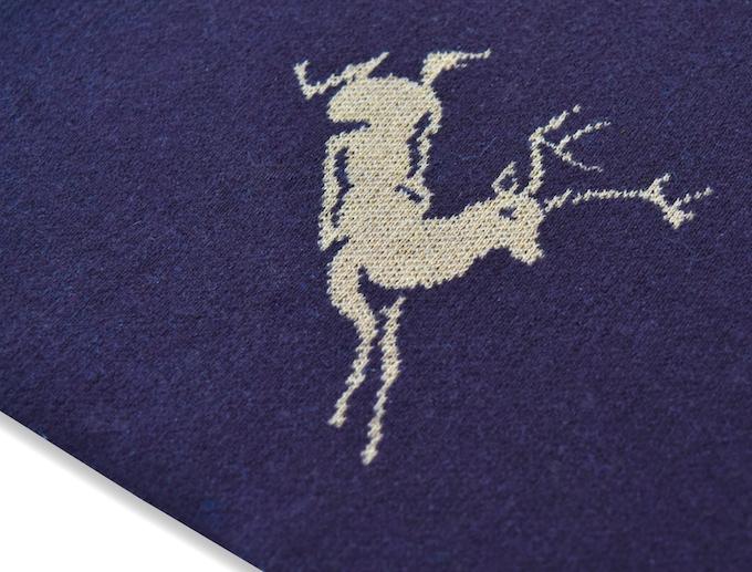 Scarf: Deer - Brown