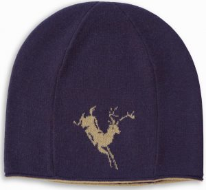 Winter Hat: Deer - Brown