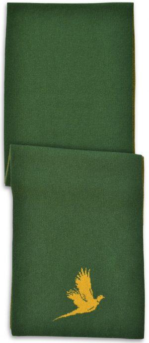 Scarf: Pheasant - Green