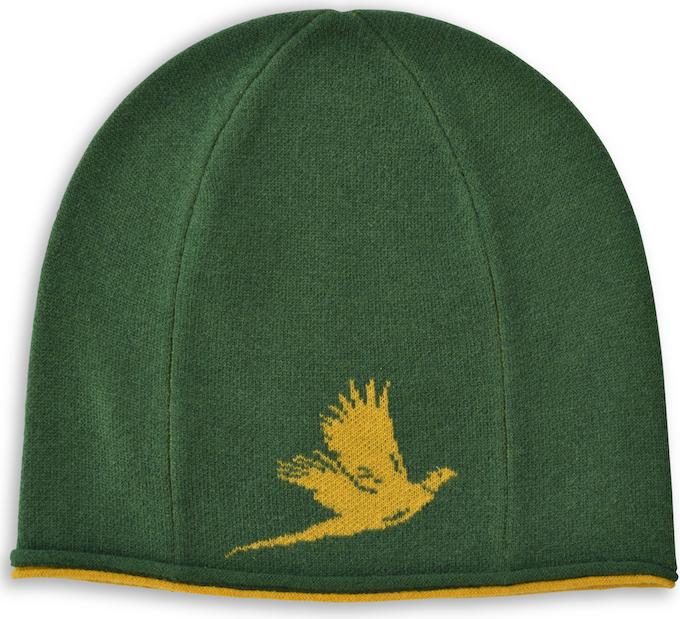 Winter Hat: Pheasant - Green