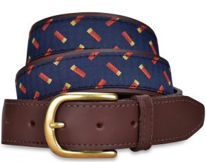 Shotgun Shells: Pedigree English Woven Belt - Navy