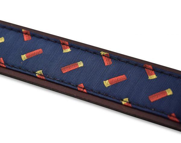 Shotgun Shells: Pedigree English Woven Belt - Navy
