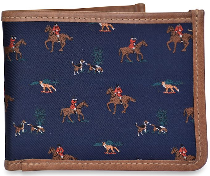 Fox Hunt: Billfold Wallet - Navy