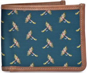 Royal Wulff: Billfold Wallet - Green