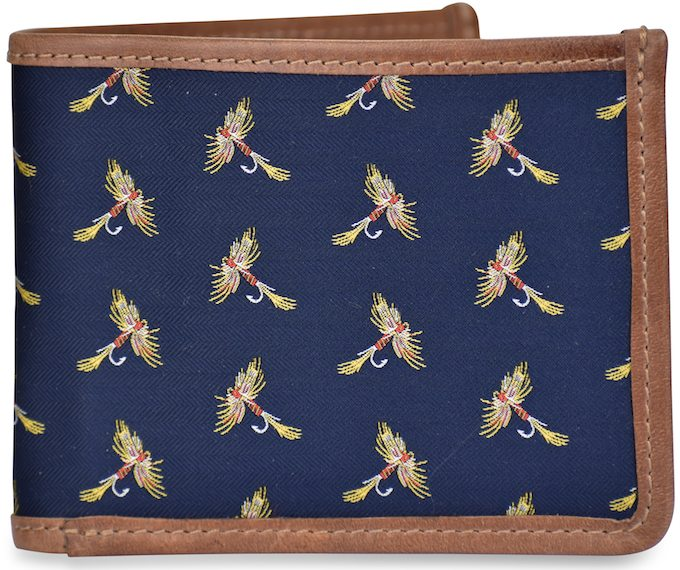 Royal Wulff: Billfold Wallet - Navy