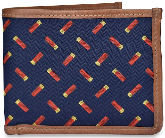Shotgun Shells: Billfold Wallet - Navy