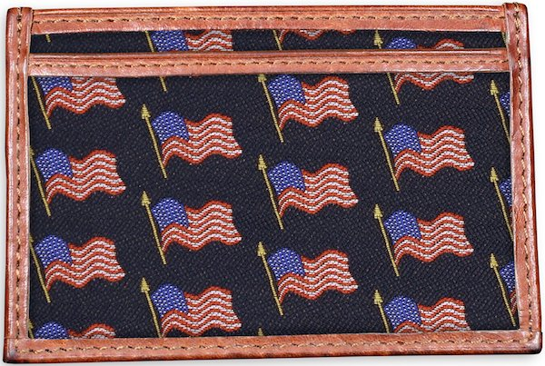 American Flag: Card Wallet - Navy