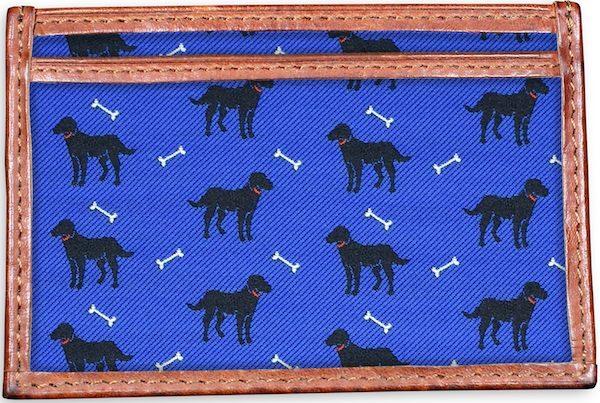 Give a Dog a Bone: Card Wallet - Blue
