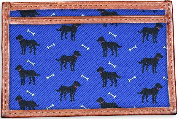 Give a Dog a Bone: Card Wallet - Blue