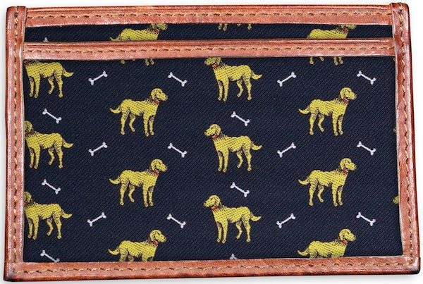 Give a Dog a Bone: Card Wallet - Navy