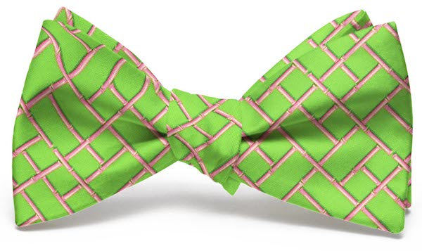 Bamboo Latice: Bow - Lime