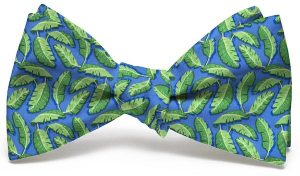 Palm Place: Bow - Mid-Blue