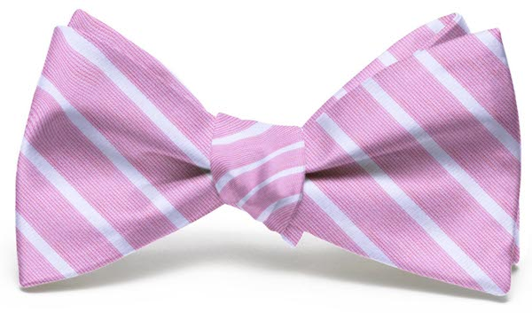 Winning Streak: Bow - Pink/White