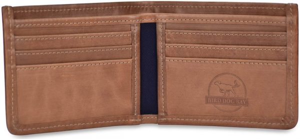Give a Dog a Bone: Billfold Wallet - Green