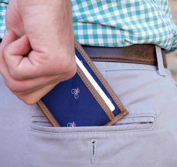 Water Hazard: Card Wallet - Blue