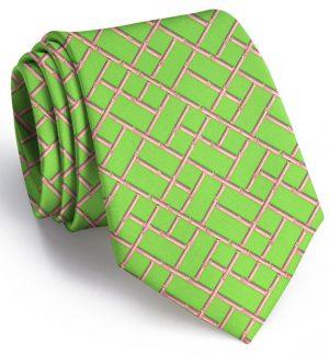 Bamboo Latice: Tie - Mint
