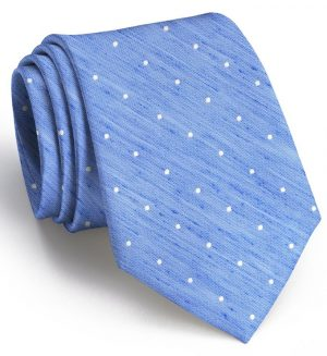 Connect the Dots: Tie - Blue/White
