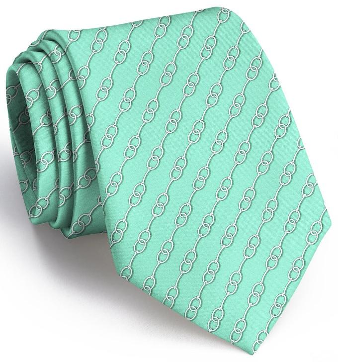 Just A Bit: Tie - Mint