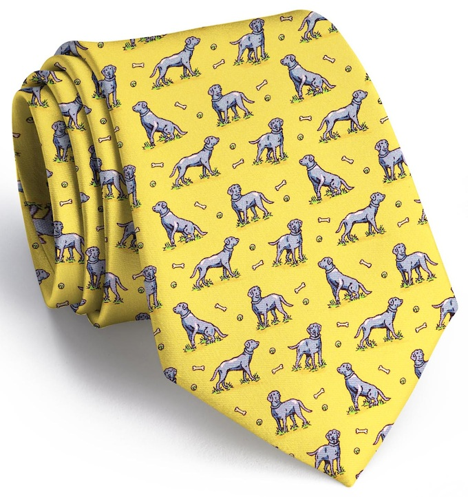 Lucky Labs: Tie - Yellow