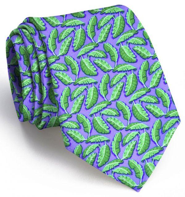 Palm Place: Tie - Violet