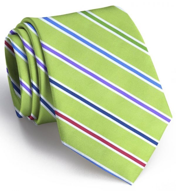 Ribbon Candy: Tie - Lime