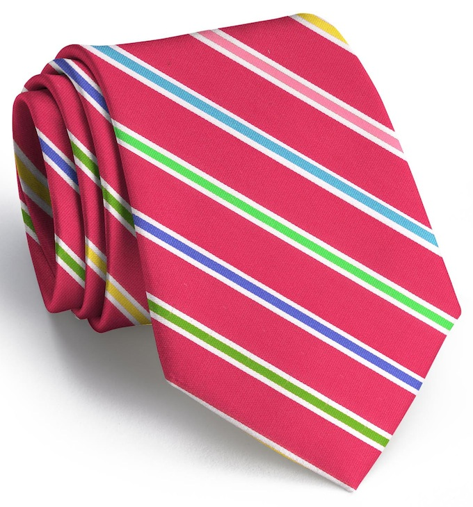 Ribbon Candy: Tie - Magenta