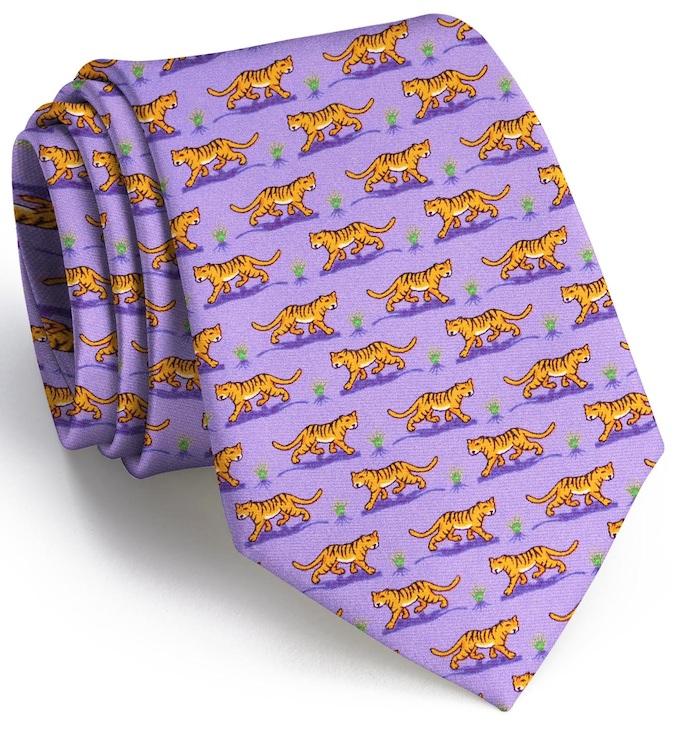 Tiger Tales: Tie - Violet