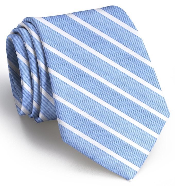 Winning Streak: Tie - Blue/White