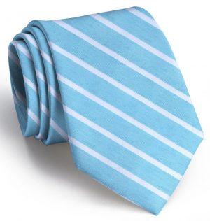Winning Streak: Tie - Turquoise/White
