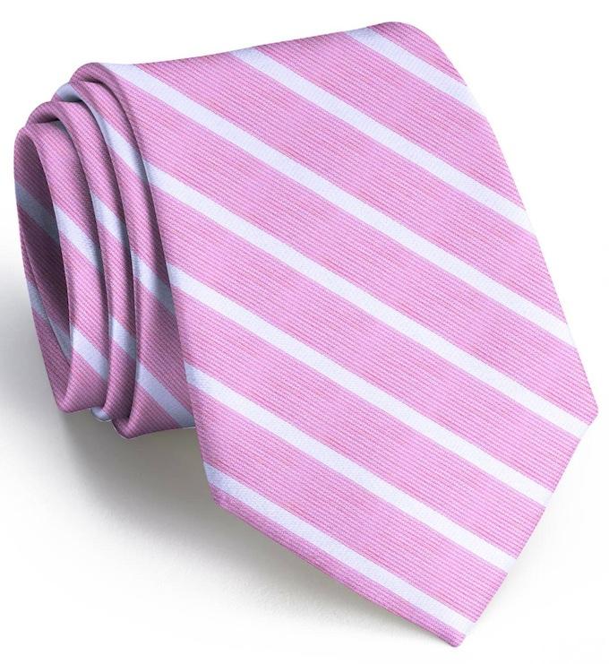 Winning Streak: Tie - Pink/White