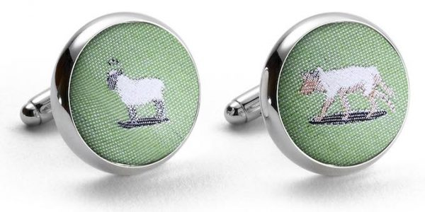 Wolf in Sheep's Clothing: Cufflinks - Mint